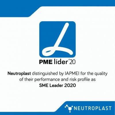 Distinction en tant que PME leader en 2020